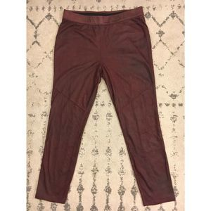 Free People Super Soft Stretchy Suede Pants